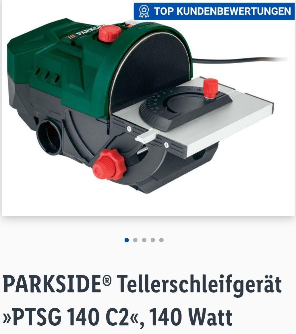 PARKSIDE® Tellerschleifgerät »PTSG 140 C2«, 140 Watt Online 39,99€ plus 4,95€ Versand