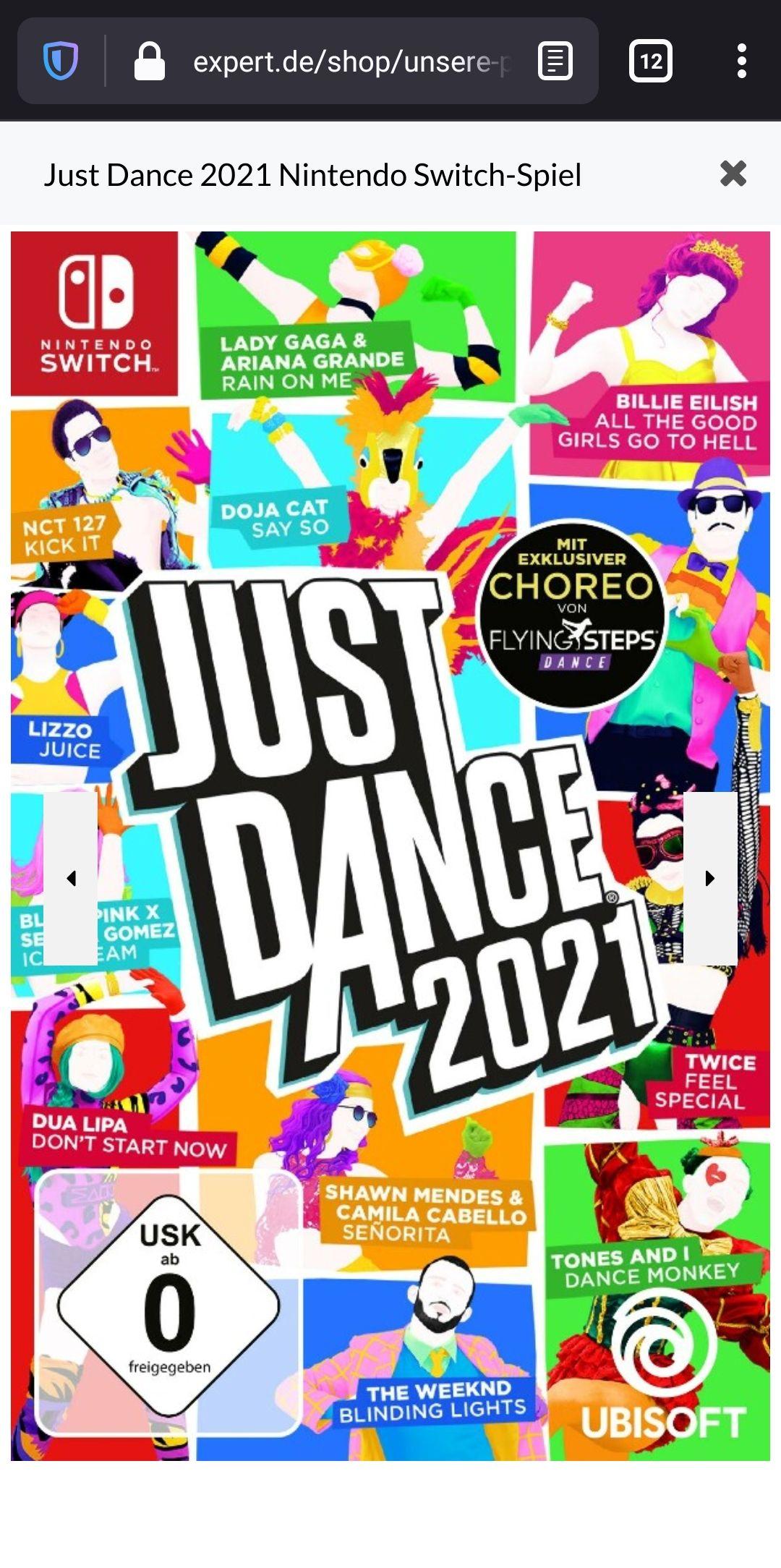 LOKAL Expert Würzburg - Just Dance 2021 Nintendo Switch