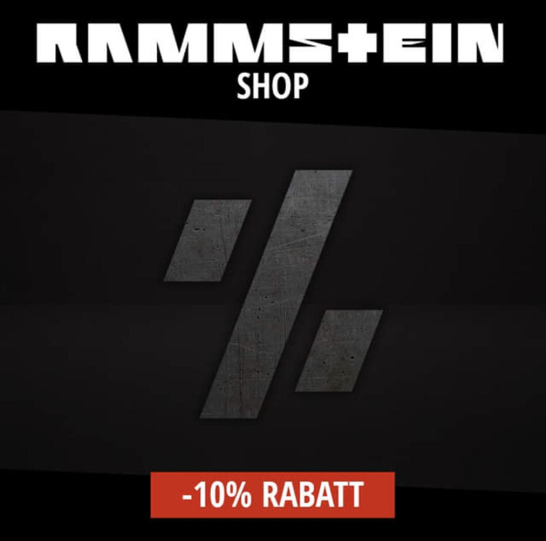 RAMMSTEIN Shop 10% Rabatt