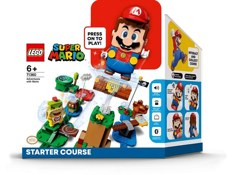 LEGO 71360 Super Mario - Abenteuer mit Mario Starterset für 37,99€ [Abholung MM Saturn]