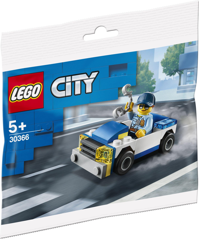 (Müller Filialabholung) LEGO Auslaufartikel-Sammeldeal - Polybags u. andere Sets mit bis zu 50% Rabatt, z. B. City 30366 Polizeiauto