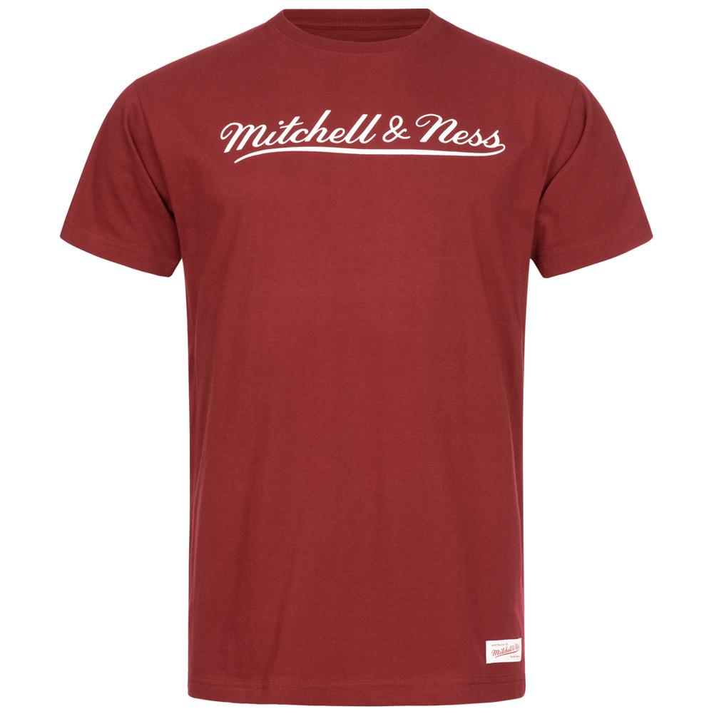 Mitchell & Ness Herren T-Shirt Script für 4,44€ + 3,95€ VSK (100% Baumwolle, Größe XS + S) [SportSpar]