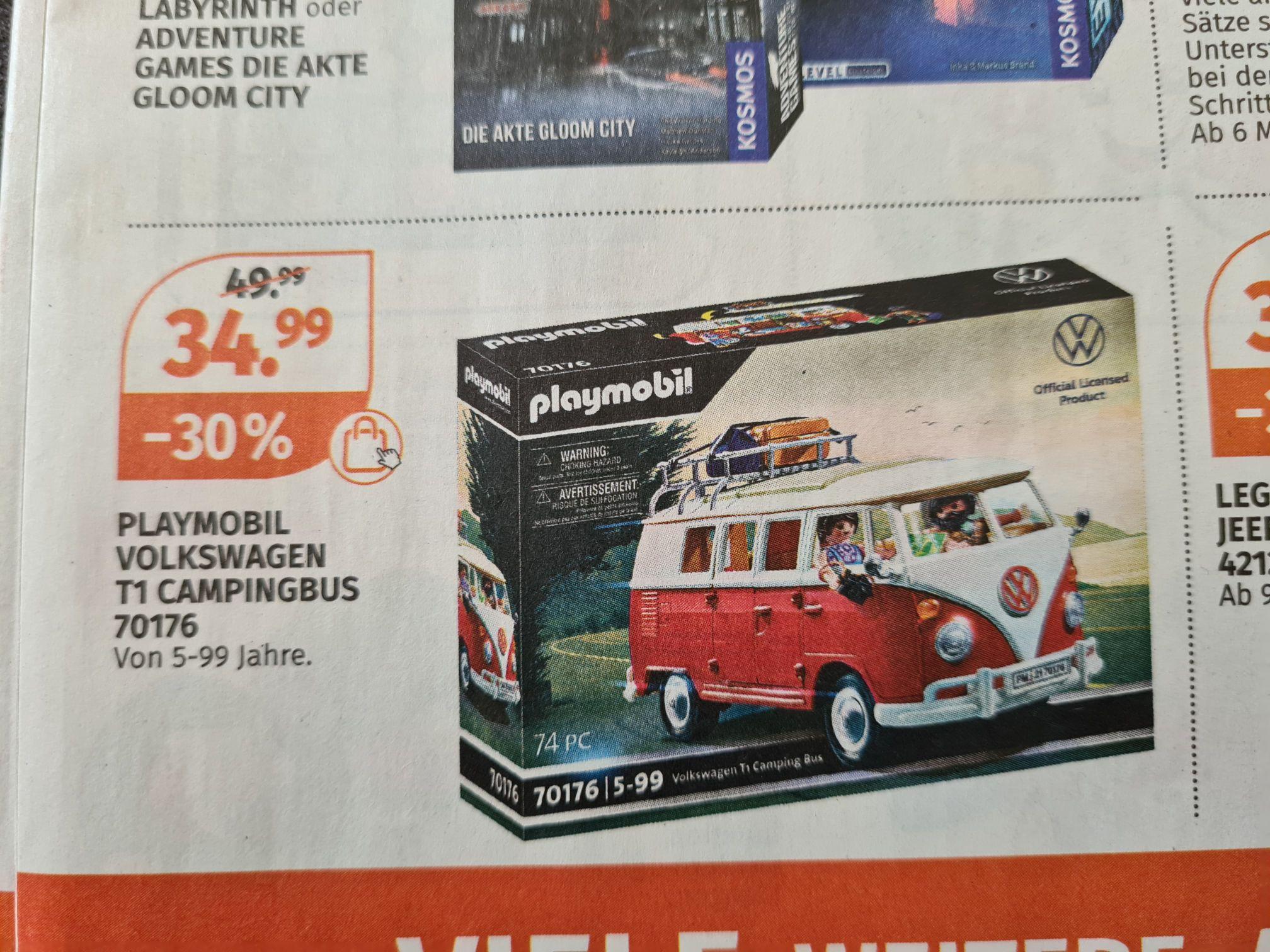 Playmobil Volkswagen T1 Campingbus 70176 (Müller)