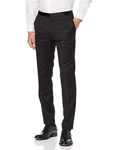 Hugo Boss HetonS Extra Slim Fit Smoking Pants black Gr. 98
