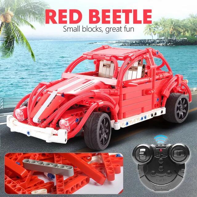 CaDA VW Käfer / Beetle CaDAC51016 ; 471 Teile Klemmbausteine für 20,69€