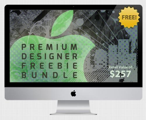 Das Premium Designer Freebie Bundle von StackSocial – Gratis-Bundle im Wert von 257$ (196€)