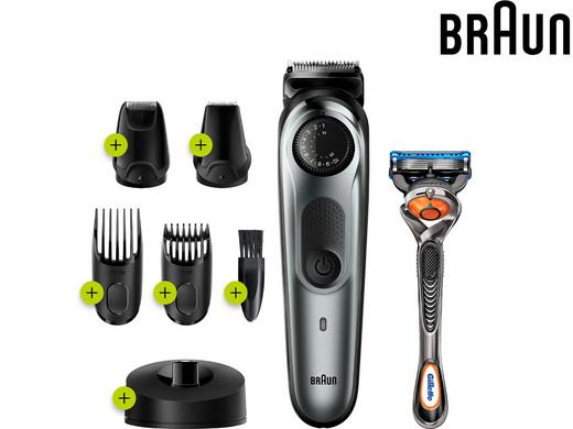 BRAUN Bart- und Haarschneider BT7240 (39 Längeneinstellungen, 4 Aufsätze, AutoSensing-Technologie) [iBOOD]