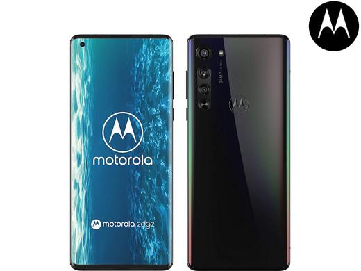 "Motorola Edge 5G Smartphone (128 GB/6 GB, 6.7"", DUAL-SIM, 64-MP-Dreifach-Kamerasystem, 4.500 mAh Akku) [iBOOD]"