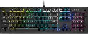 Corsair K60 RGB PRO LOW PROFILE Mechanische Gaming-Tastatur (CHERRY MX Low Profile SPEED Tastenschalter: Schnell und Hochpräzise [Amazon]