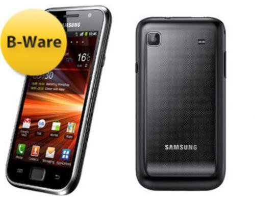 "MP: Samsung™ - Galaxy S Plus Smartphone I9001 (4"" 800x480,8GB,Android )  229,95€ Neuware (Idealo ca. 270-280€) @ TALK POINT"