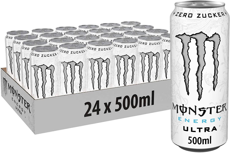 [Prime Sparabo] Monster Energy Ultra White, 24 x 500ml Dosen, zzgl. Pfand (0,81€ pro Dose)