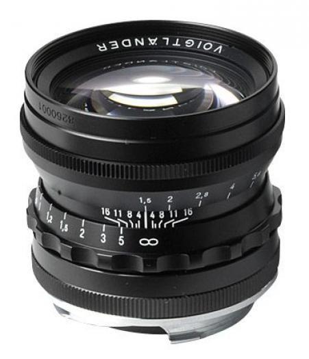 Voigtländer Nokton 50mm 1:1,5 schwarz ASPH. VM-Bajonett Leica M