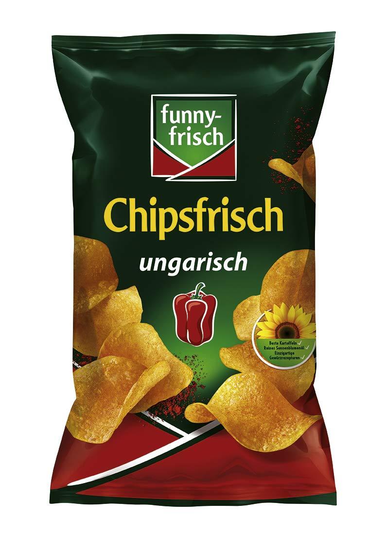 [Prime Sparabo] funny-frisch Chipsfrisch ungarisch, 10er Pack (10 x 175 g)