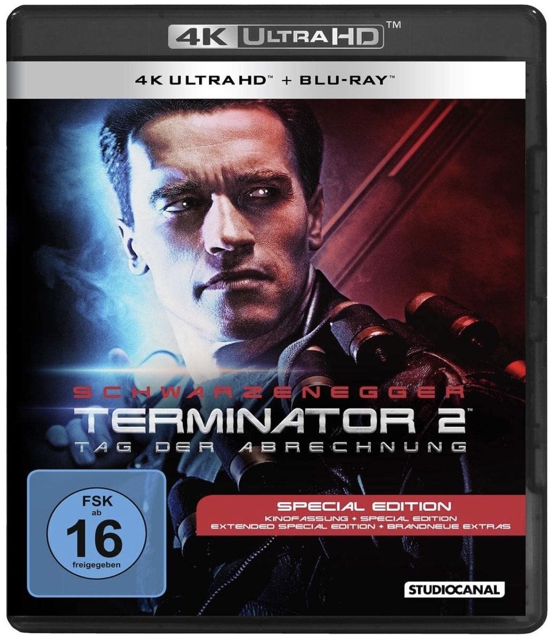 Terminator 2 [4K Ultra HD] [Blu-ray] | Bestpreis