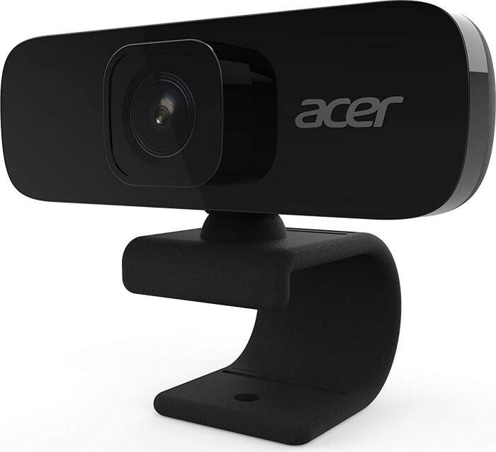 Acer ACR010 Webcam (1920x1080@30fps, 70° Weitwinkel, integriertes Mikrofon, 2.5m USB-Kabel)
