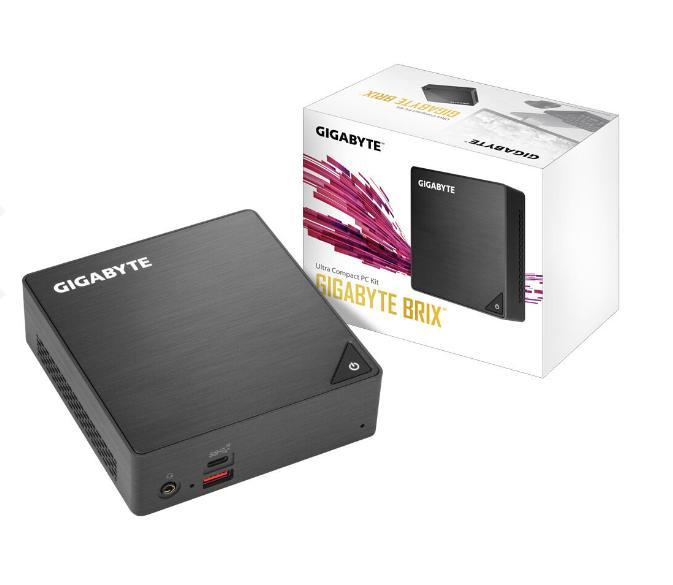 Mini PC Gigabyte BRIX GB-BRi3H-8130 Intel i3 8130U 2x 2,20GHz, Intel UHD-Grafik 620, DDR4 SO-DIMM