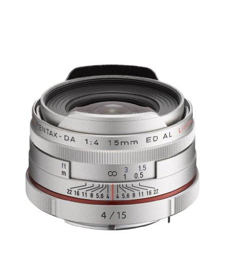 Pentax HD Pentax-DA 15mmF/4ED AL HD Limited APS-C Objektiv silber