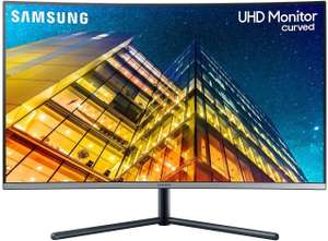 "Samsung U32R592 - 32"" Curved 4K UHD Monitor (VA, 60 Hz, 3840x2160, HDMI, DisplayPort, 16:9, 4 ms, 1500R)"