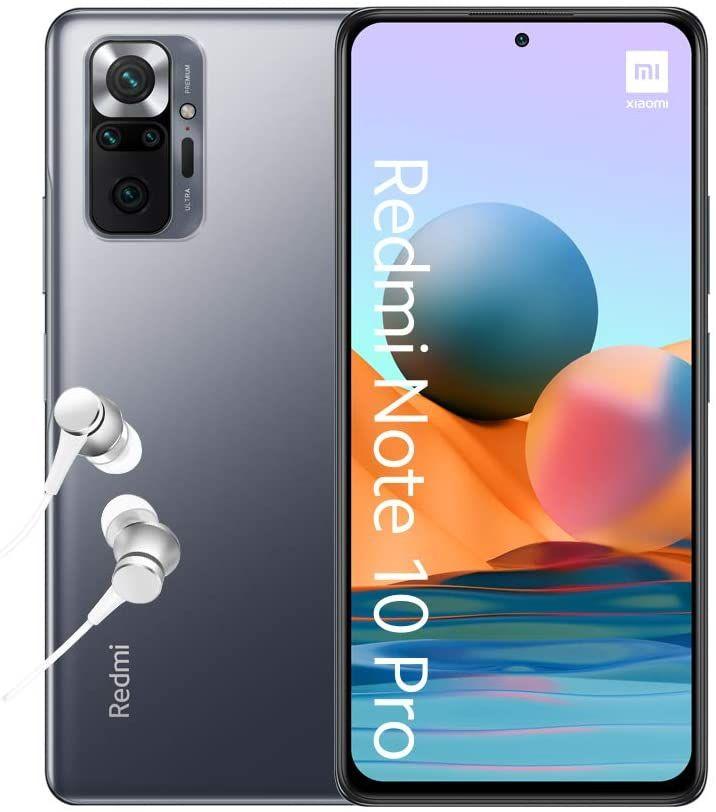 "[Vorbestellung] Xiaomi Redmi Note 10 Pro 6,67"" AMOLED FHD+ 6/64GB (Snapdragon 732G, 291K AnTuTu, 5.020 mAh, 108 MP Quad-Cam, USB-C, NFC)"