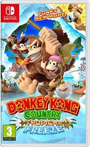 Donkey Kong Country Tropical Freeze Nintendo Switch (Warehouse Deal)