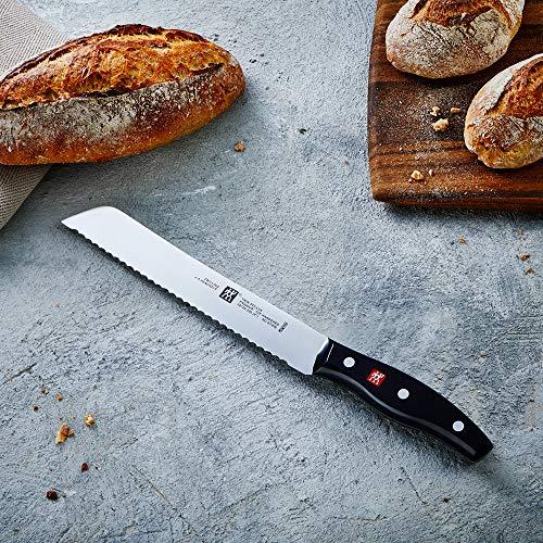 [amazon PRIME] Zwilling Brotmesser Twin Pollux 20 cm (Klingenblatt mit Wellenschliff, Rostfreier Spezialstahl/Kunststoff-Griff)