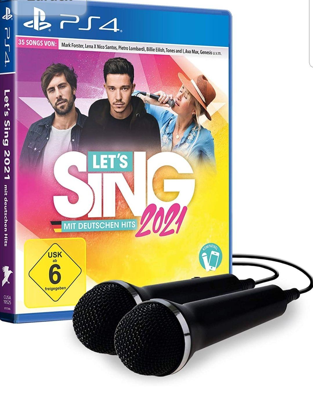 Let's Sing 2021 mit deutschen Hits [+ 2 Mics] (Playstation 4)