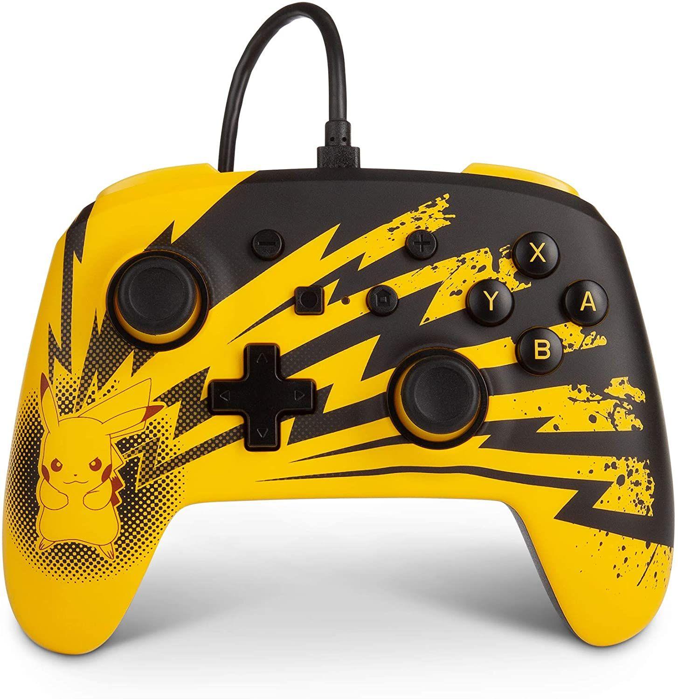 PowerA Advanced Wired Controller - Pikachu Lightning [Nintendo Switch]