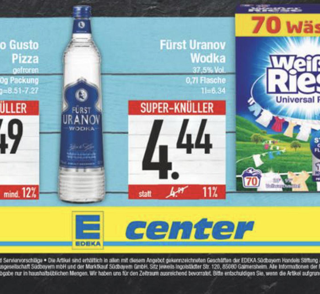 Regional Bayern - Edeka - Vodka Fürst Uranov