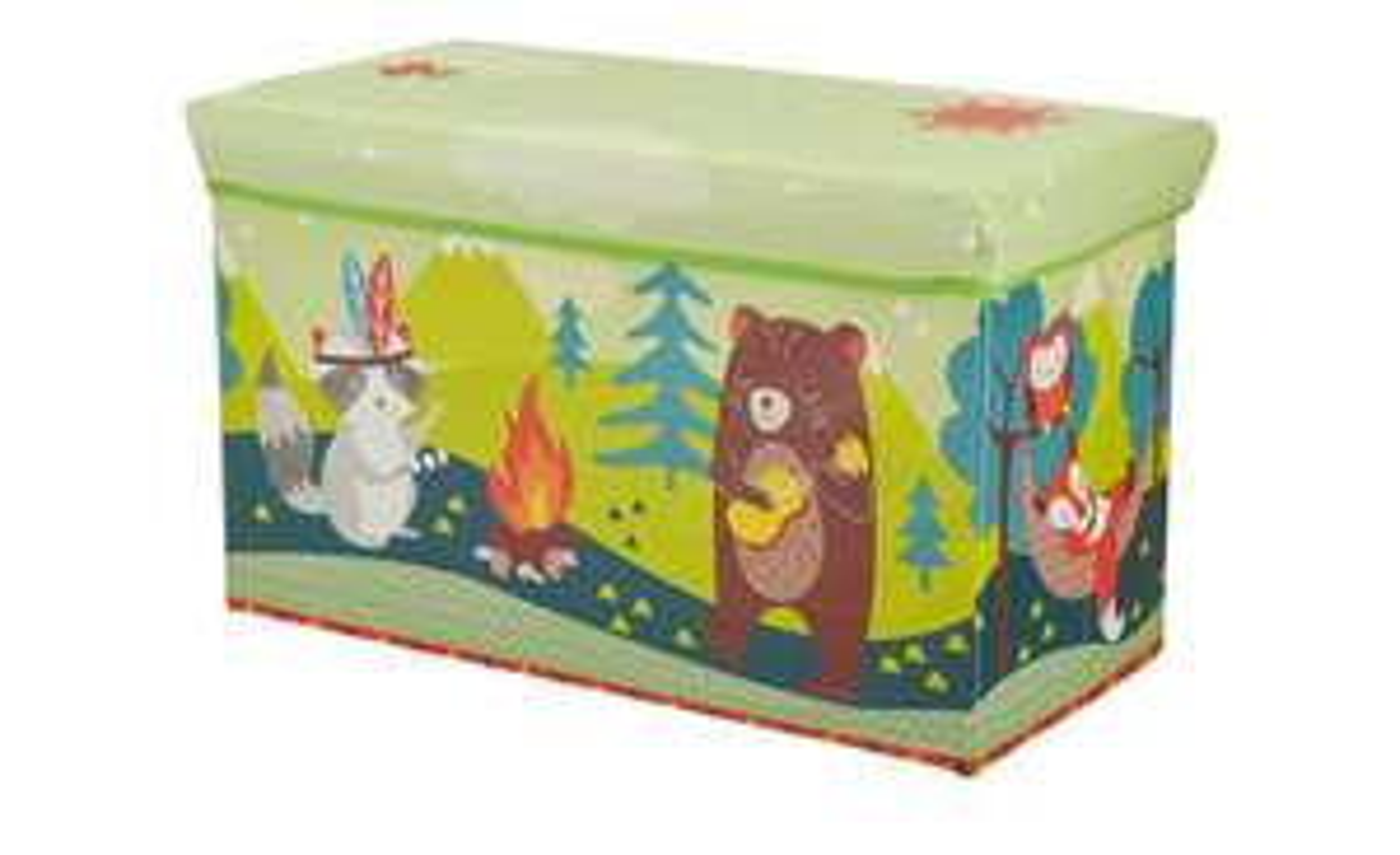 Sitzbank mit Stauraum Waldtiere für Kinder (verschiedene Modelle) Höffner Click&Collect oder zusätzliche Versandkosten