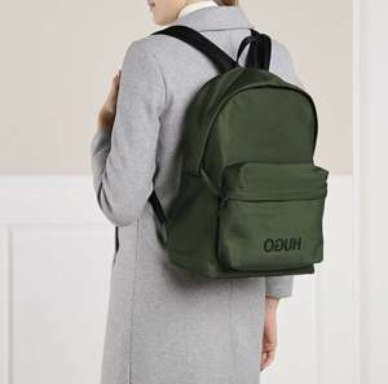 HUGO Record Backpack Dark Green