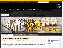 OPEL Profi Check + Original Scheibenwischer für 7,99 EUR