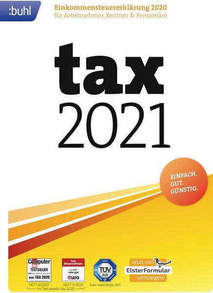 Buhl Data tax 2021 (Steuerjahr 2020) [Thalia KultClub]