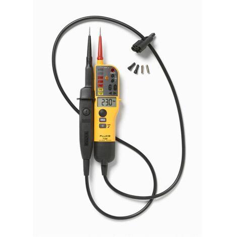 Fluke T150/VDE Duspol Spannungs & Durchgangsprüfer mit LCD Wiederstandsmessung Messgerät