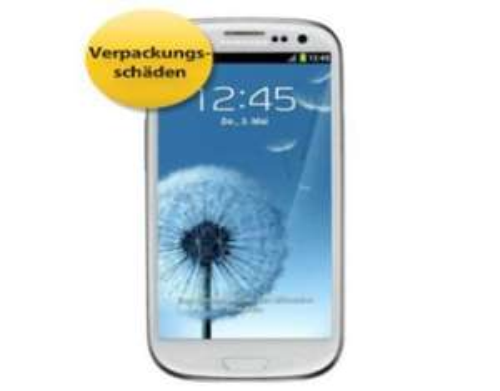 MP B-Waren Channel: Galaxy S3 wie Neuware allerdings mit Verpackungsschäden 359,99€ mit Gutschein