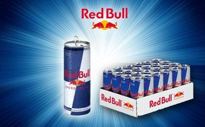 24 Dosen Red Bull inkl. Pfand & Versand