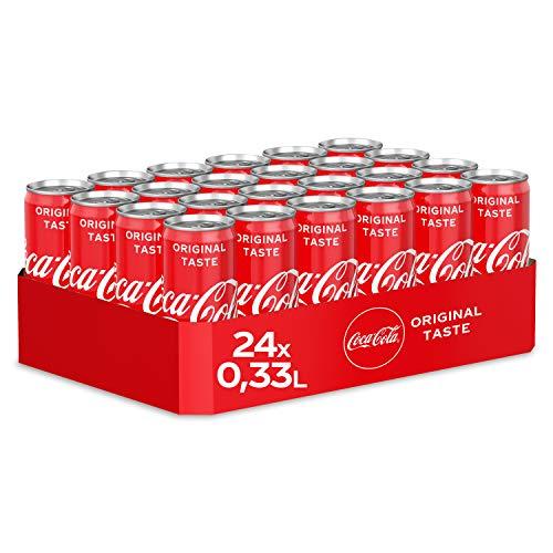 [Amazon Prime] 24x 0,33l Coca-Cola Classic, Coca-Cola Zero und Coca-Cola Light Taste