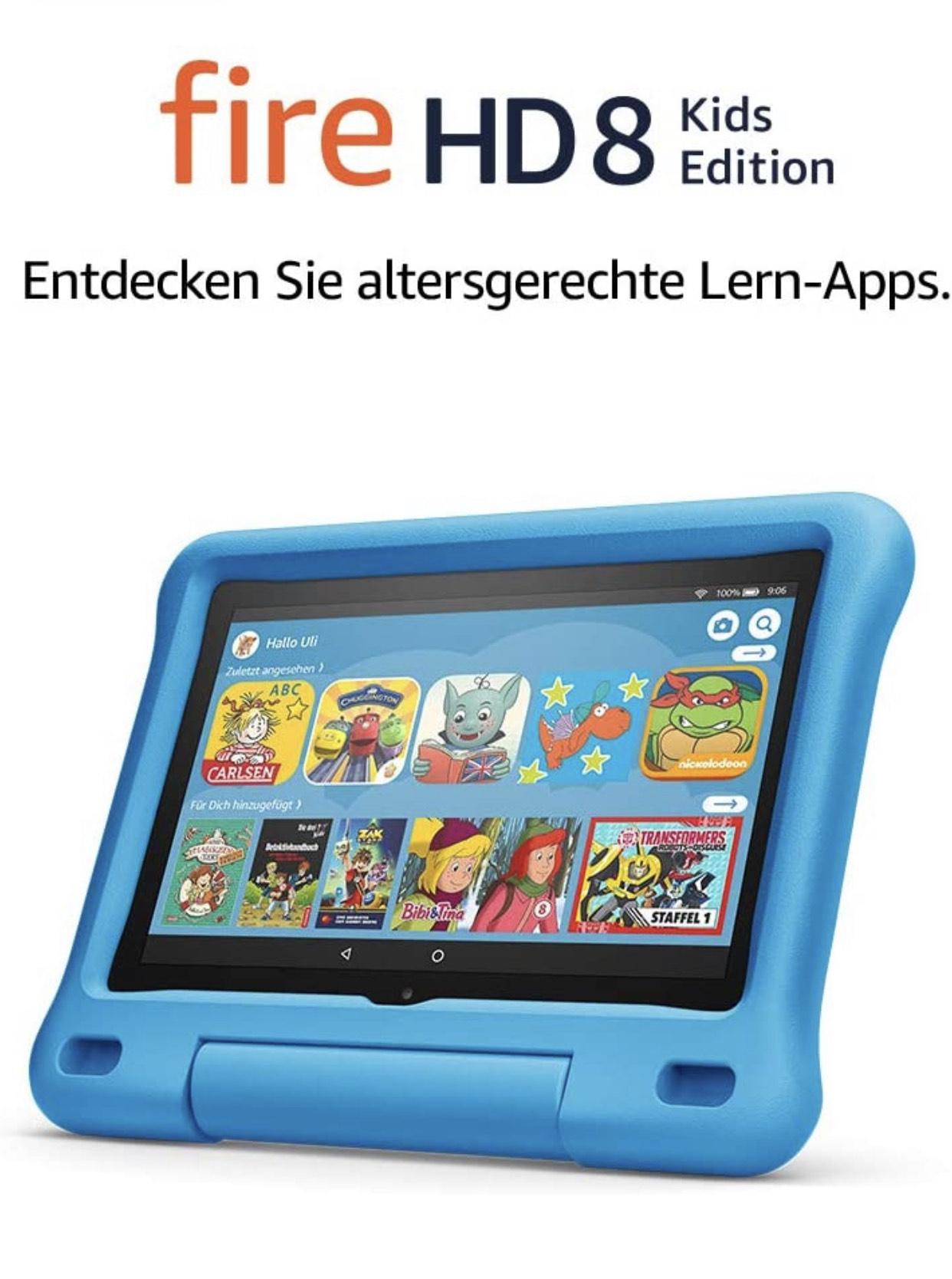 """Fire HD 8 Kids Edition-Tablet (weitere Versionen 7/10"""")"""