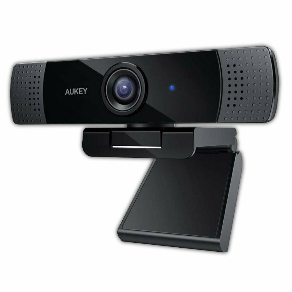 Aukey FullHD Webcam mit Stereo Mikrofon Weitwinkel 1080p