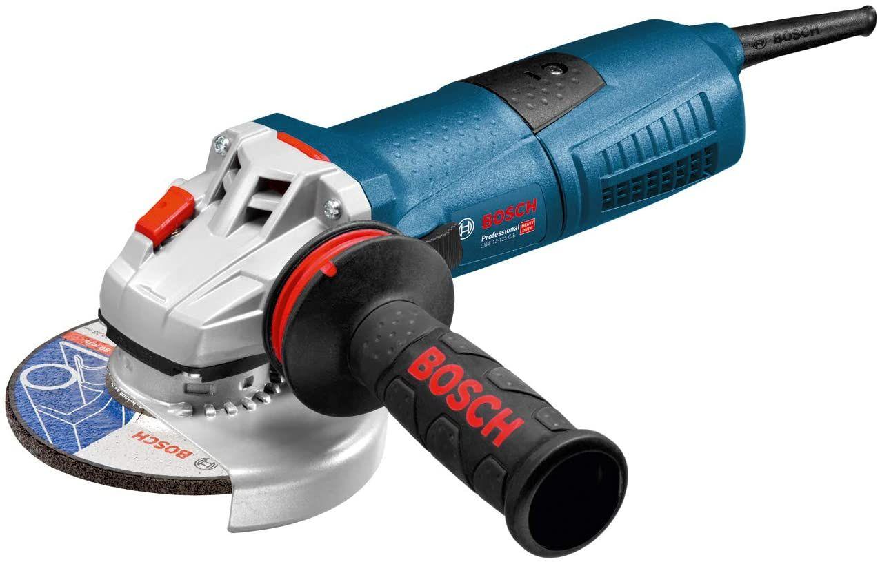 Sammeldeal Bosch Professional Winkelschleifer GWS 13-125 (1.300 Watt, Leerlaufdrehzahl: 11.500 min-¹, Scheiben-Ø: 125 mm, in Karton)
