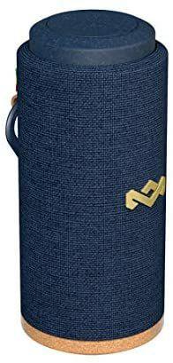 House of Marley No Bounds Sport Bluetooth Lautsprecher, wasserdicht IP67, schwimmfähig, 12 Std Akku, 360°Sound, blau