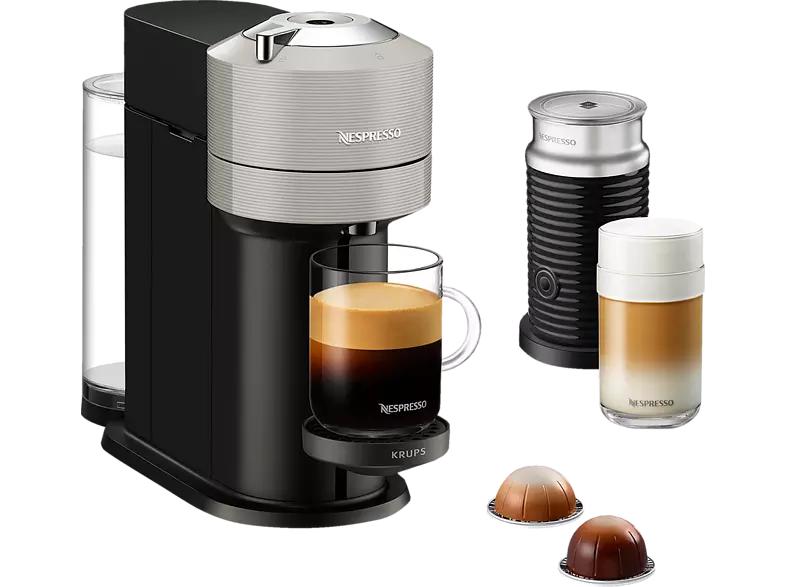 Krups Nespresso Vertuo Next XN911B Kapselmaschine + Nespresso Aeroccino 3 Milchaufschäumer [Saturn / Amazon]