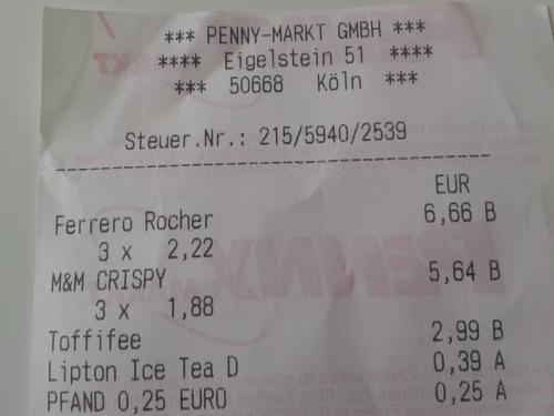 Ferrero Rocher 16Stk. für 2,22 € bei Penny in Köln