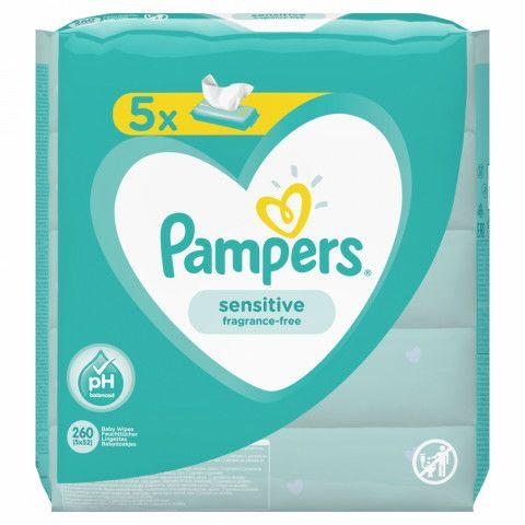 Pampers Feuchttücher 2 + 1 Gratis 5x52 Packung Sensitive oder Fresh Clean oder 3x48 Packung Aqua bei Rossmann
