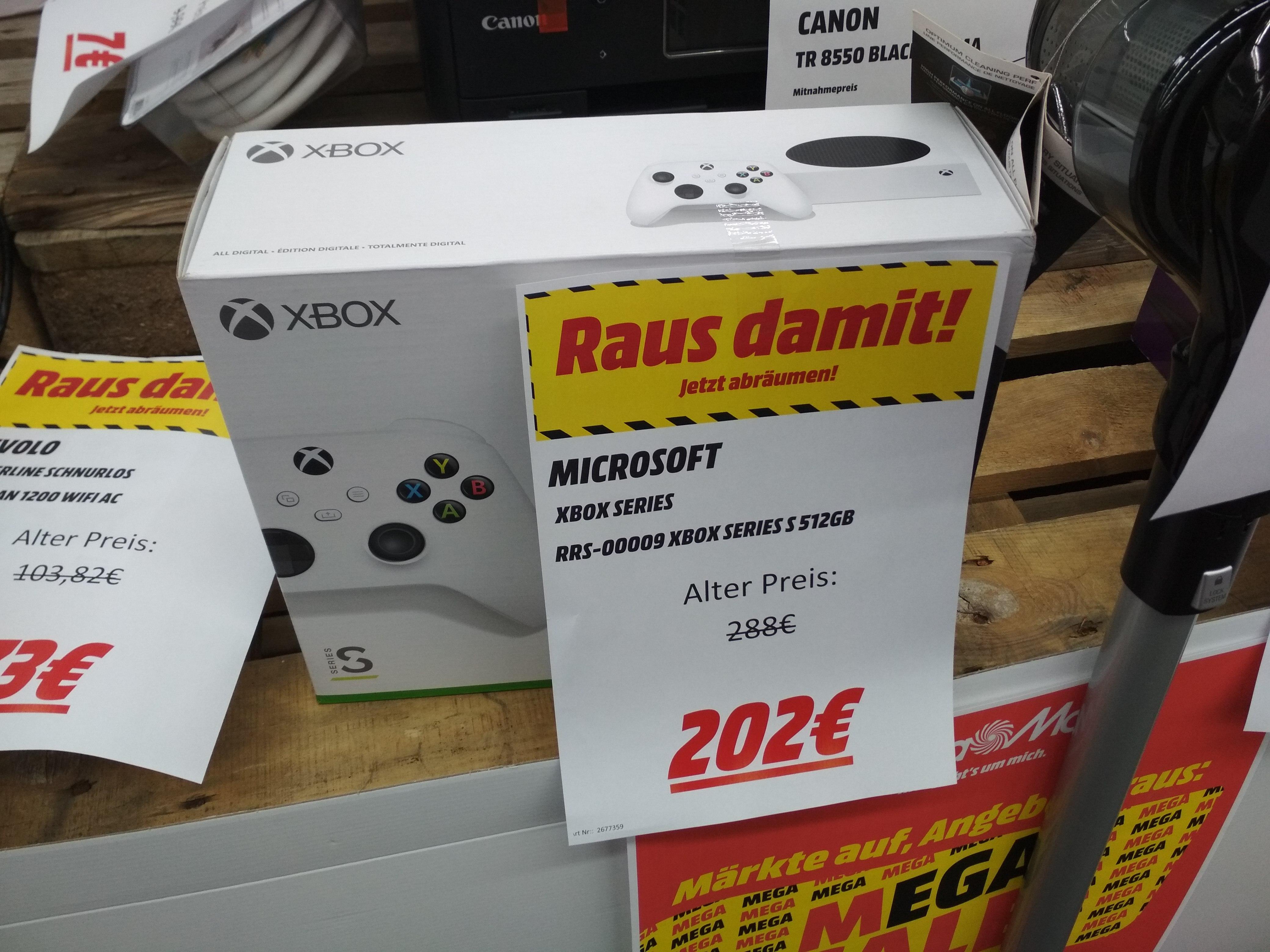 [Lokal Mediamarkt Kaiserslautern] Xbox Series S