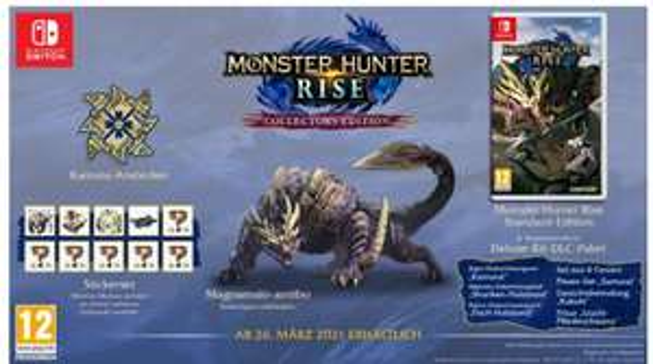 Monster Hunter Rise - Collector's Edition (Switch) für 81,43€ inkl Versand (Galaxus)