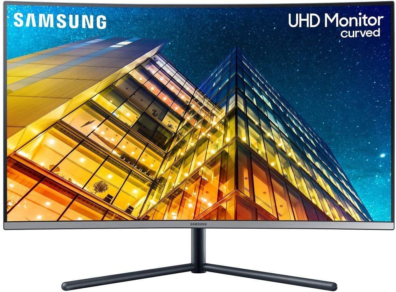 "Samsung LU32R592C - 32"" Curved 4K UHD Monitor (VA, 60 Hz, 3840x2160, HDMI, DisplayPort, 16:9, 4 ms, 1500R)"