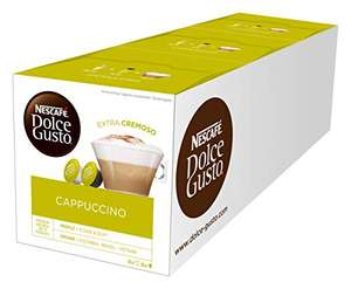 NESCAFÉ Dolce Gusto Cappuccino (3x16 Kapseln) - Amazon Prime