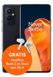Oneplus 9 128GB Black mit Buds Z im Vodafone Smart XL (30GB 5G, Allnet, VoLTE) mtl. 39,91€ einm. 4,99€ + 20€ Amazon | keine AG