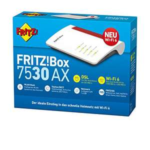 [Amazon.fr WHD] AVM Fritz!Box 7530 AX WI-FI 6 Router (DSL/VDSL,1.800 Mbits/s, wie neu