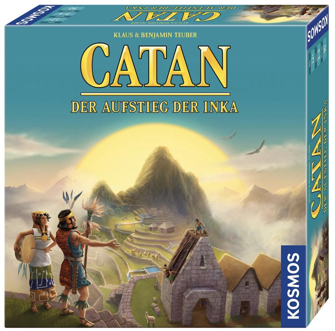 Catan - Aufstieg der Inka (Siedler von, Brettspiel, Gesellschaftsspiel, Teuber)